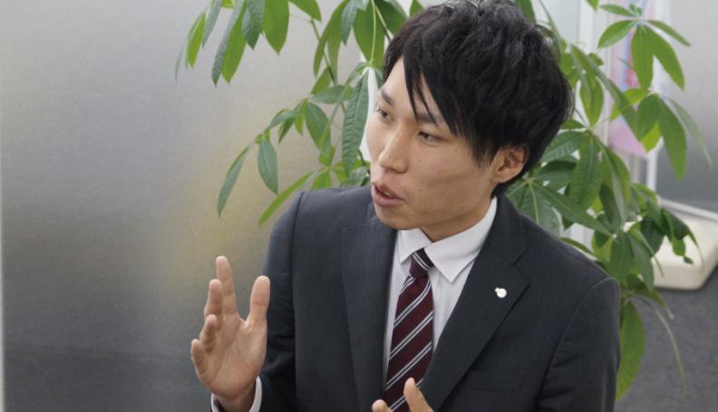 ホームページ制作事業部 先輩インタビュー1