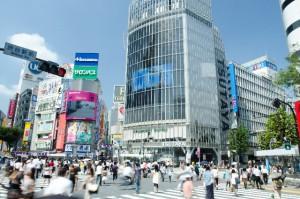 ソニーが渋谷モディの大型ビジョンの命名権を獲得!!