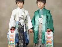 袴姿の子供達